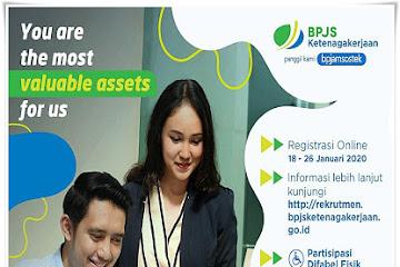 Lowongan Kerja Bandung Karyawan BPJS Ketenagakerjaan
