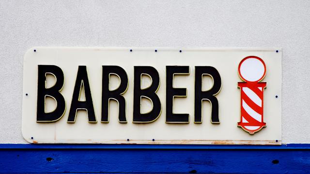 Изображение таблички парикмахера