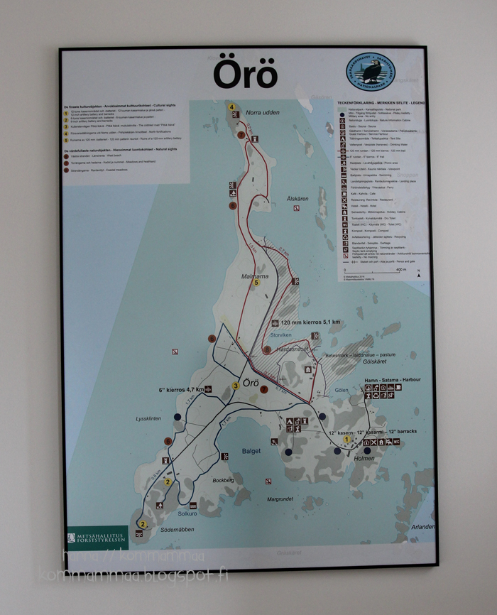 örö kesä veneily kartta