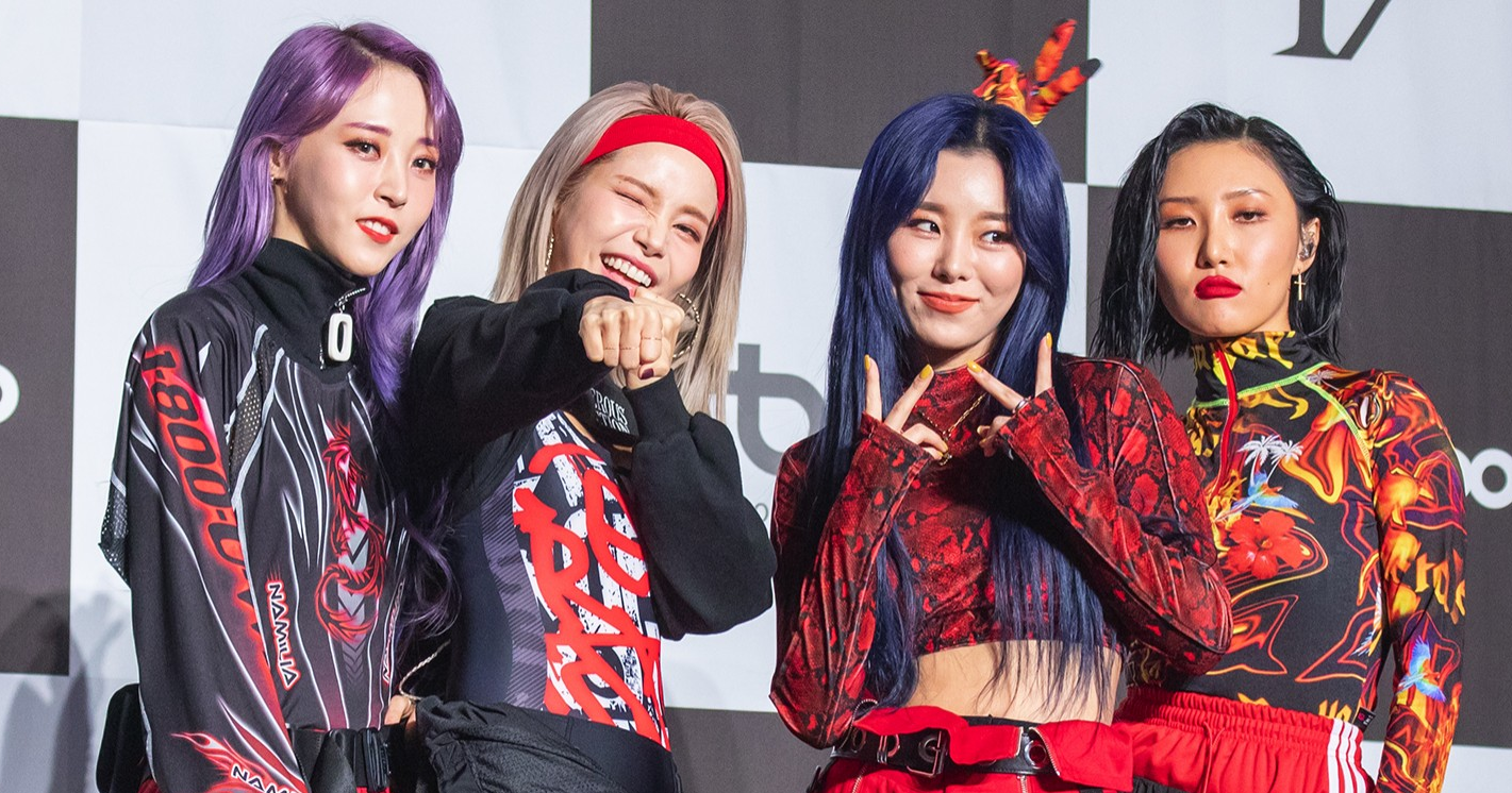 MAMAMOO Topped the Billboard Chart For The First Time with 'HIP'