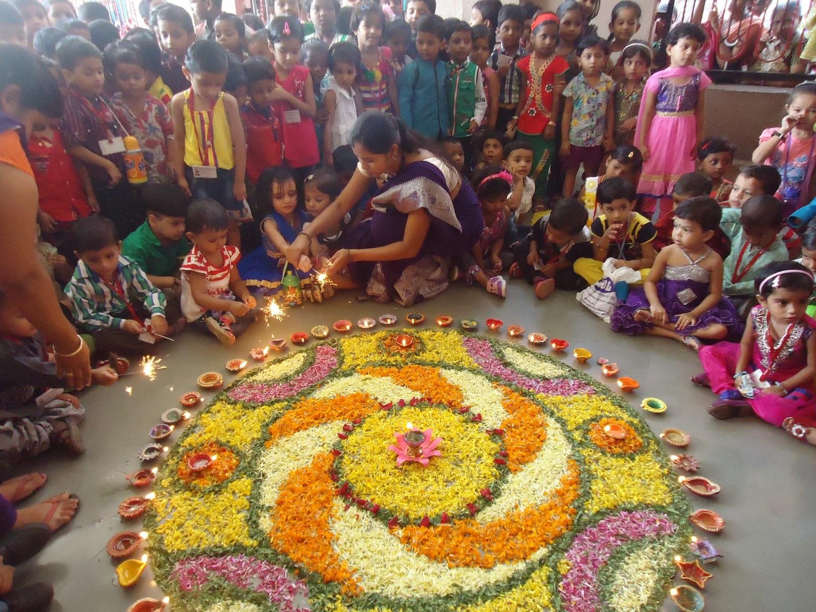 Firstep The Pre School Diwali Celebration