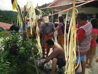 sarawak, perayaan gawai dayak