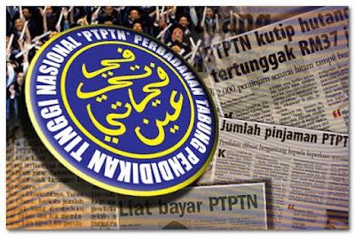 Semakan Baki Pinjaman PTPTN Secara Online