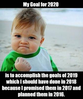 My goal for 2020 is.. {keyword}jokes