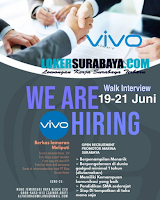 Walk In Interview at PT. Vivo Communication Indonesia Surabaya Juni 2020