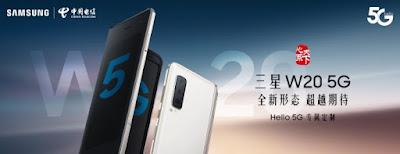 Foldable Samsung W20 jaringan 5G masuk di China dengan Snapdragon 855
