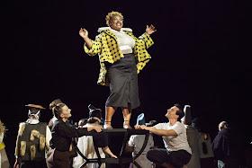 Verdi: Don Carlos - Annelies Van Gramberen, Raehann Bryce Davis, Leonardo Capalbo - Opera Vlaanderen (Photo Annemie Augustijns)