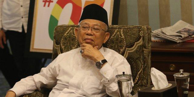 Pernyataan Ma'ruf Amin Soal Tak Ada Capres Gandeng Ulama, Netizen: Bikin Hoax Lagi