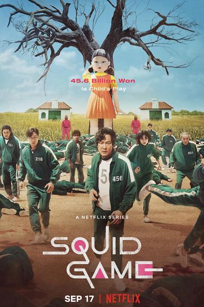Download Squid Game (2021) S01 Dual Audio [Hindi+English] 720p + 1080p WEB-DL ESubs