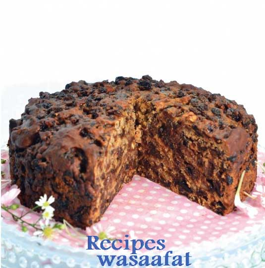 Fruit cake ( Only 3 ingredients )