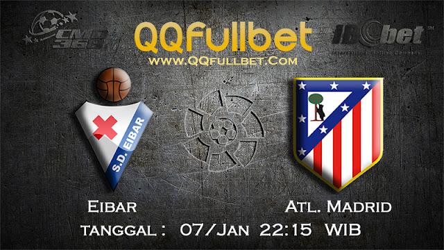 PREDIKSIBOLA - Prediksi Taruhan Bola Eibar vs Atletico Madrid 07 Januari 2017 (La Liga Spanyol)