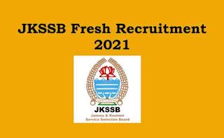JKSSB 2311 VACANCIES: APPLICATION FORM EDIT OPTION AVAILABLE @SSBJK.ORG.IN