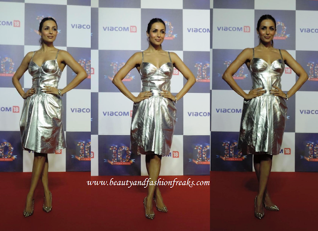 MALAIKA ARORA KHAN WEARS PILAR DEL CAMPO AT VIACOM 18 PARTY