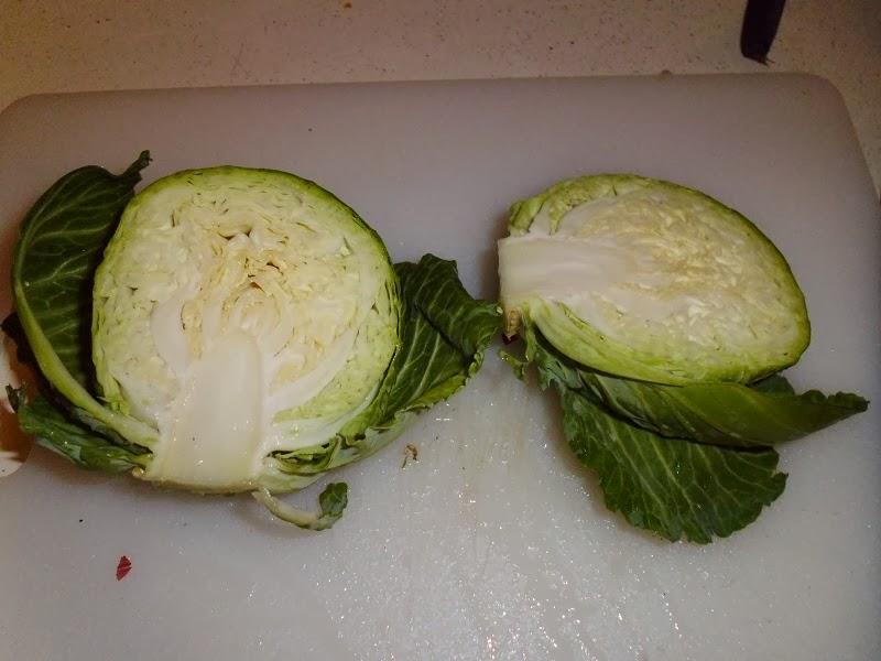 Interior Cabbage Head