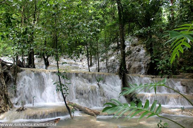 kaparkan falls history