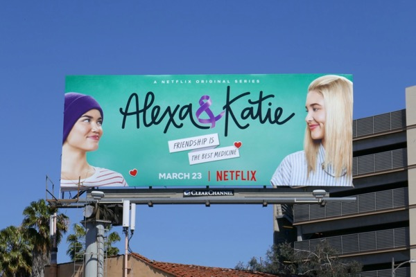 Alexa Katie series premiere billboard