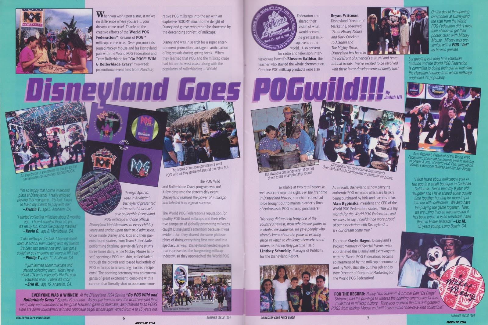 Angry AP - Disneyland and Walt Disney World nostalgia