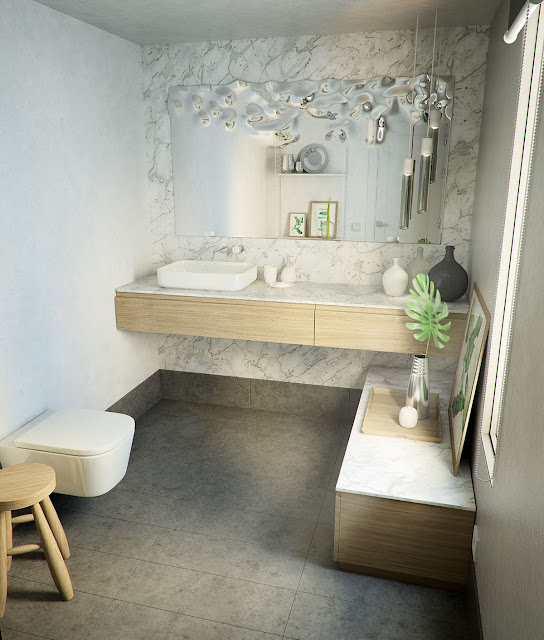 Bedroom Attached Bathroom Design