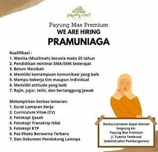 Lowongan Kerja Payung Mas Premium Riau