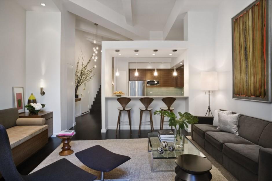 Hogares frescos im genes antes y despu s de un apartamento tipo loft redise ado en nueva york - Fotos de lofts decorados ...