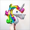 Balon Foil Rainbow Unicorn Mini