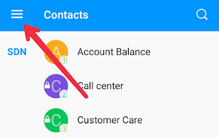 steps to backup contacts on android