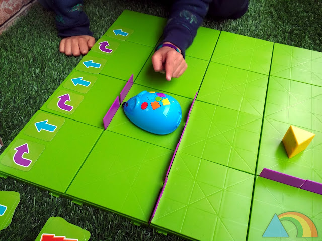 Robot programable Code&Go de Learning Resources
