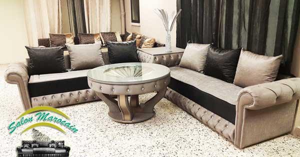 Décoration Salon Marocain Moderne 2016