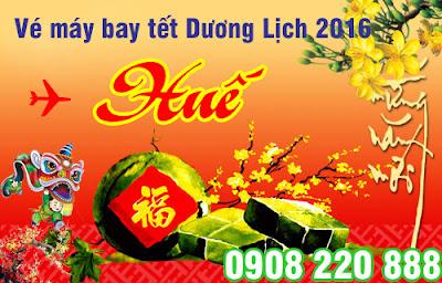 Giá vé máy bay Tết Dương Lịch đi Huế 2016