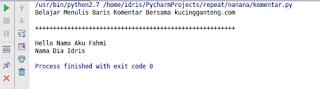 Cara Menulis Baris Komentar dalam Bahasa Pemrograman Python