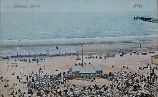 Beach sands, minstrel pitch