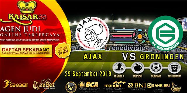 Prediksi Bola Terpercaya Liga Belanda Ajax Vs Groningen 29 September 2019