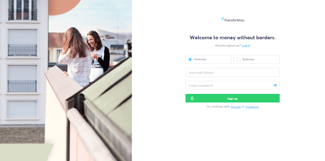 Transferwise for remote workers, nomads