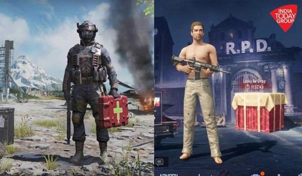 Pubg Mobile vs Call Of Duty