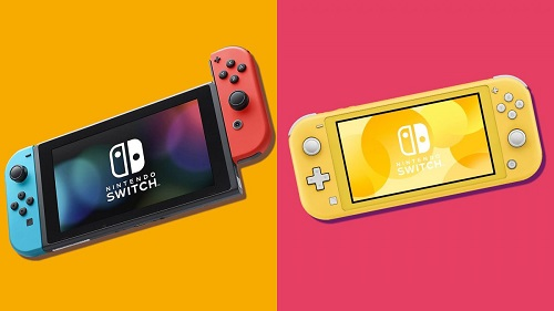 Nintendo Switch Lite Has Smaller Size