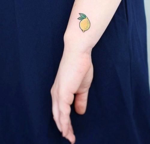 Tatuagens de limões
