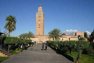 Masjid Koutoubia - Maroko