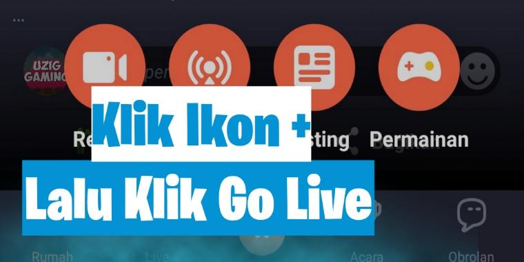 cara live streaming menggunakan hp