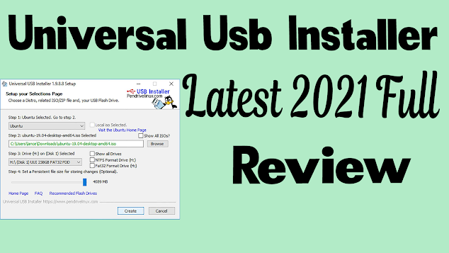 Universal-Usb-installer-for-Linux -Free-download