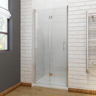 Frameless Bi-fold Shower Doors