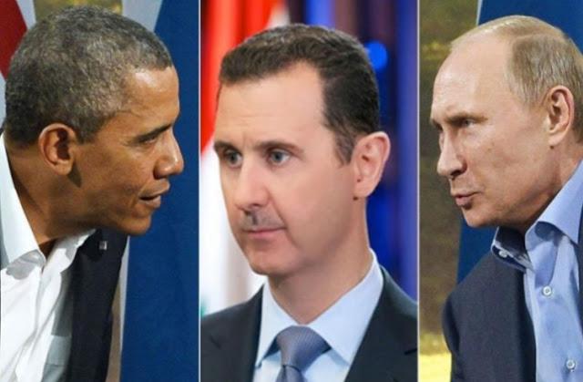 اتفاق روسيا و أمريكا على رحيل بشار