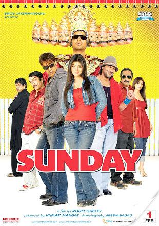 Sunday 2008 Full Hindi Movie Download HDRip 720p