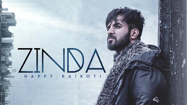 Zinda guitar Chords & Lyrics with Strumming Pattern |Happy Raikoti