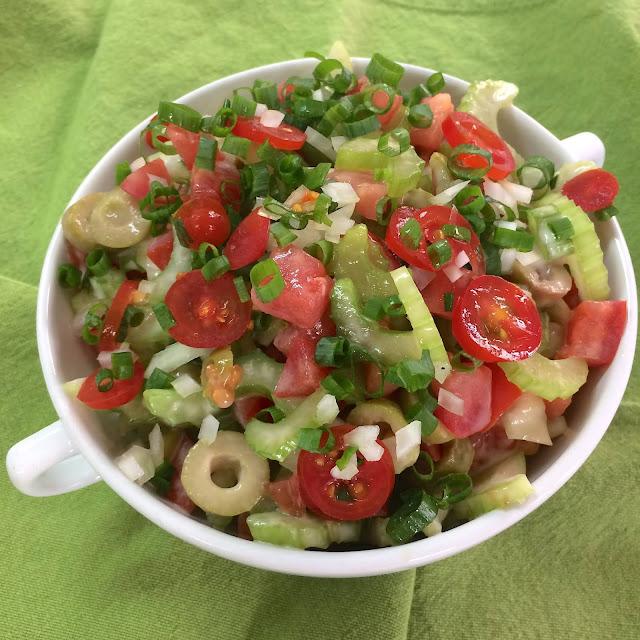 Salada de salsão