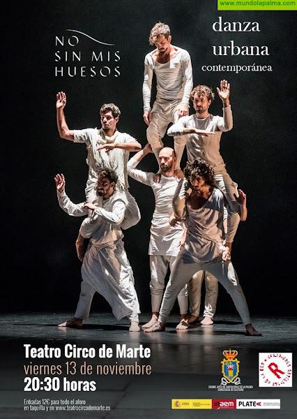 Danza urbana en el Teatro Circo de Marte para representar la vida del escritor Miguel de Cervantes