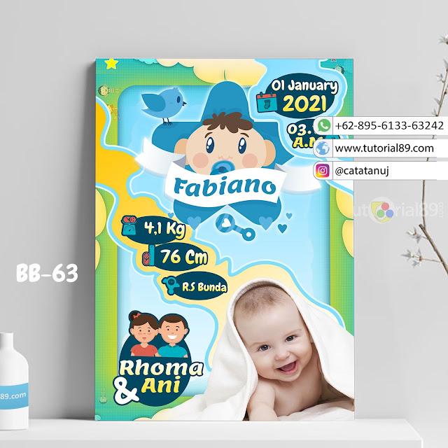 Biodata Bayi Costume Unik Kode BB63 | Burung Twitter