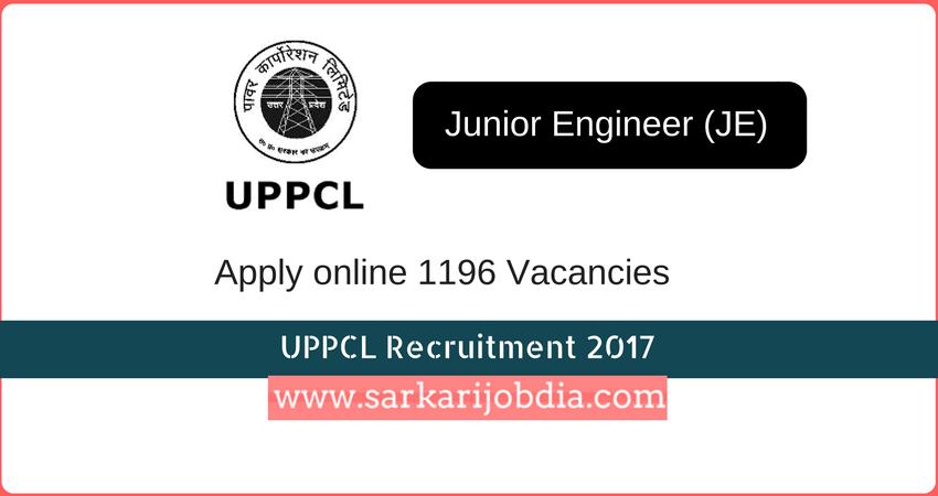 UPPCL-recruitment-2017-JE