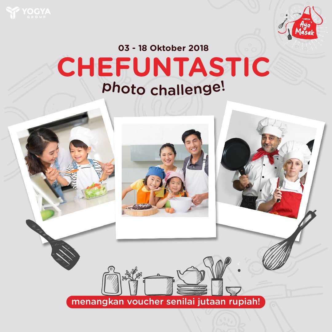 "Yogya - Kontes Photo Chalange ""Chefuntastic Photo Challenge"" 2018"