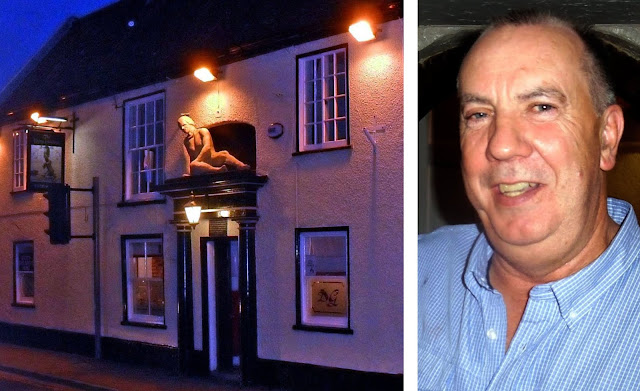 The Dying Gladiator pub in Brigg town centre which landlord Eugene Irwin, pictured here, is reopening again after lockdown on August 10, 2020 - images on Nigel Fisher's Brigg Blog