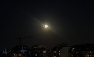 supermoon photo in April 2020